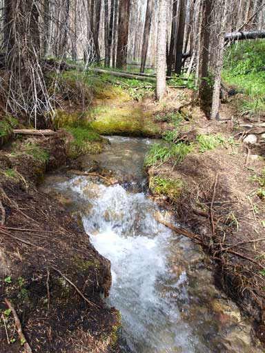 A smaller creek