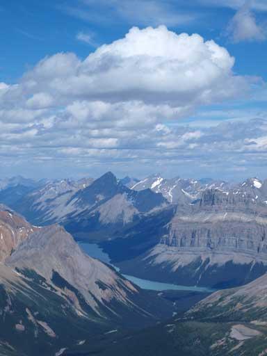 Maligne Lake and Samson Peak