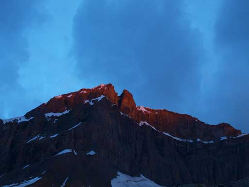 Alpenglow on Mount Thompson