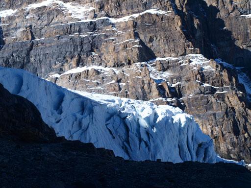 Icefalls on AA Glacier