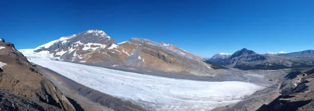 Panorama of Athabasca Glacier