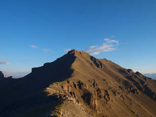 Looking towards Peak V