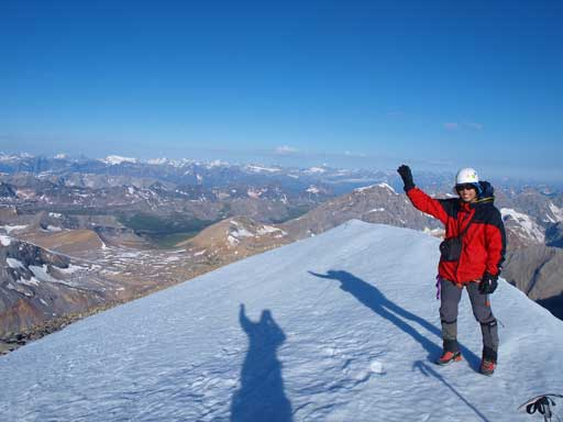 Me on the summit of my 4th 11,000er