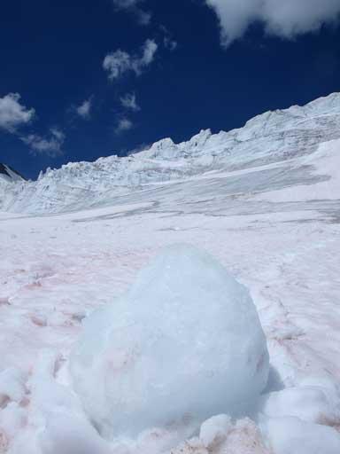 One of the ice debris