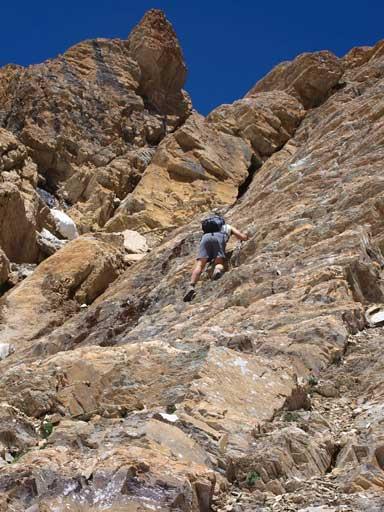 Down-climbing