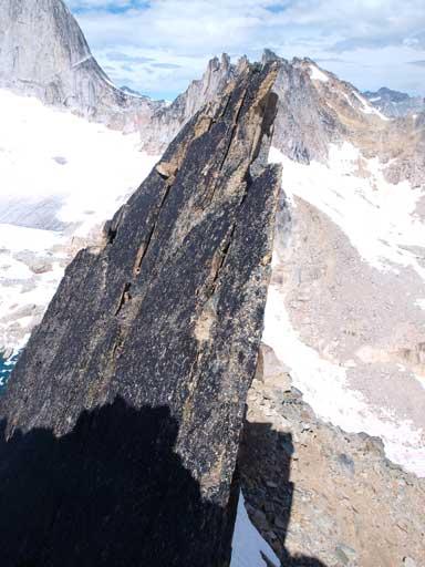 Impressive rock formation