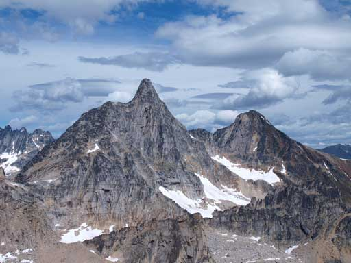 Brenta Spire and Northpost Spire