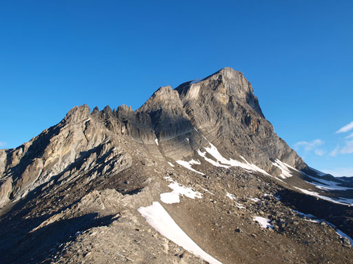 Mount Niles seen from its SE corner.