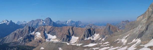 Mount Stephen and Mount Vaux