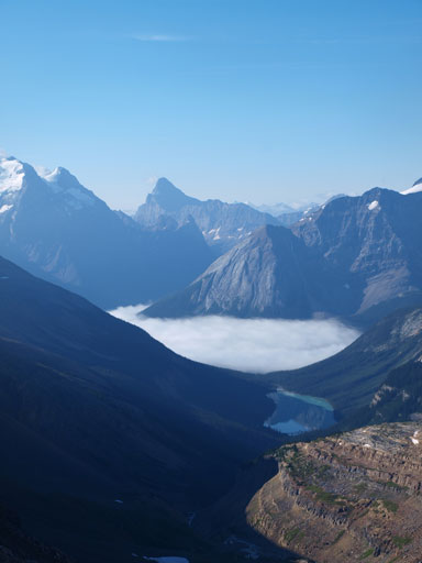 The inversion and also, Sherbrook Lake