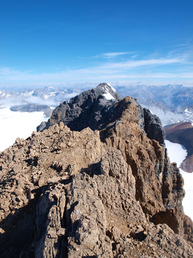 Looking ahead to the true summit
