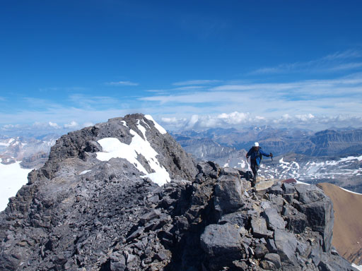 Going back to the false summit