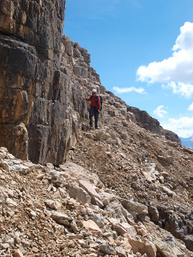 """We found an easier line down the """"crux"""""""