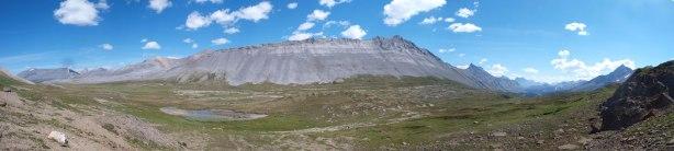 Panorama of Wilcox Pass again