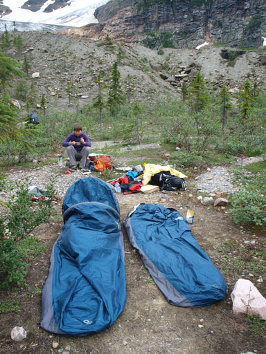 Surprisingly we had same bivy sack