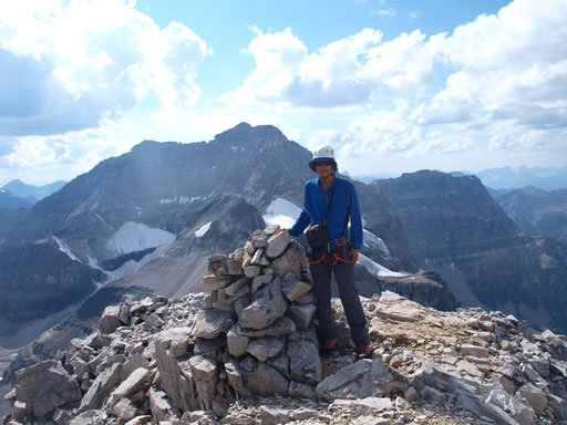 Me on the summit of Mount Strom