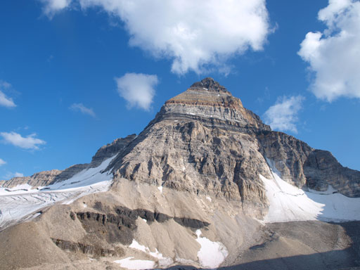 Our objective, the mighty Mount Assiniboine