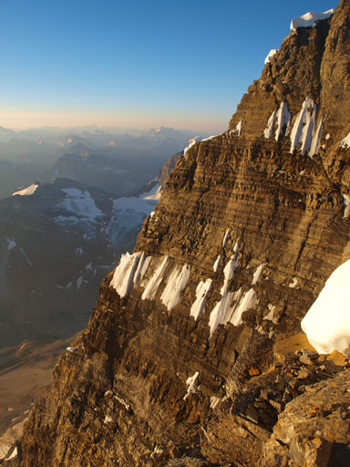Assiniboine's East face