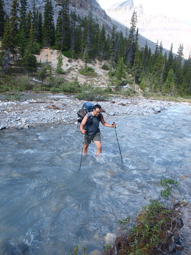 Dolomite Creek crossing #1