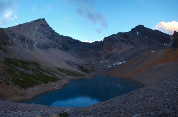 This would be our day 1's destination, this high alpine lake