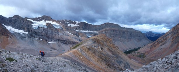 Panorama view from the SW Ridge of Recondite
