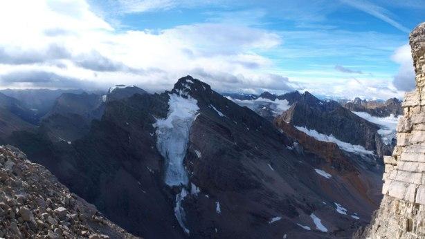 The north glacier on Mount Augusta