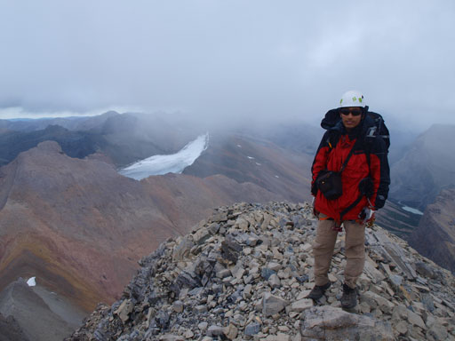 Me on the summit of Recondite Peak