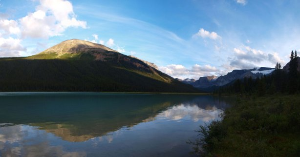 Panorama of Isabella Lake