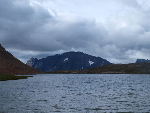 Bow Peak seen from Lake Katherine