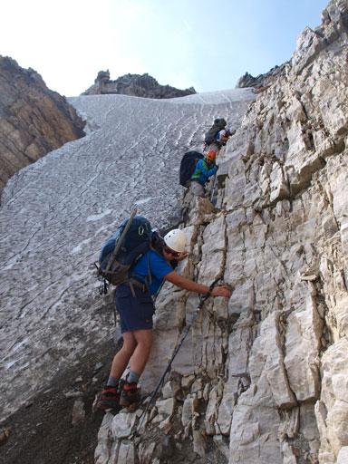 Simul down-climbing