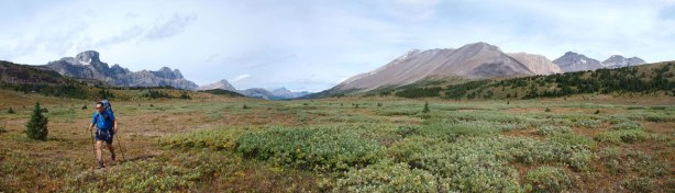 Another panorama of this lovely alpine meadows