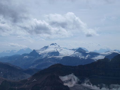 Mount Hector is another 11,000er on the East side of Icefield Parkway.