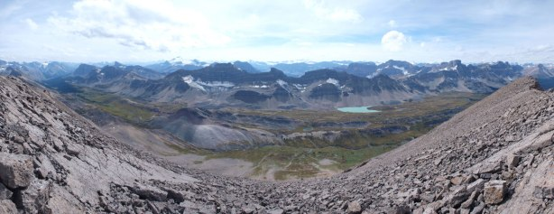 Panorama of Pipestone/Siffleur River Valley