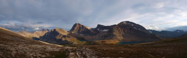 Panorama from our camp
