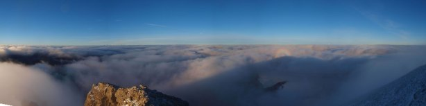 Oh wow. Panorama from near the summit!!!