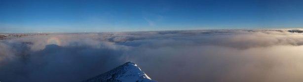 Panorama looking north. Oh man!