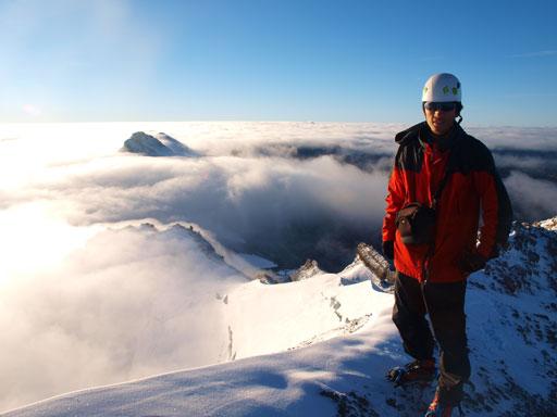Me on the summit of Mount Willingdon