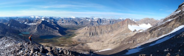 Panorama from Willingdon/Crown col