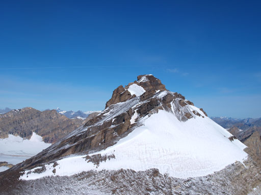 Looking back at the main summit of Willingdon
