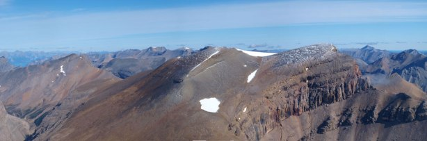 Mount Harris is a big pile of scree
