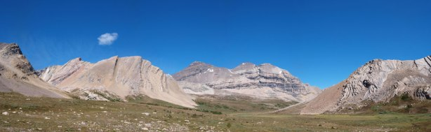 Panorama from Clearwater Pass