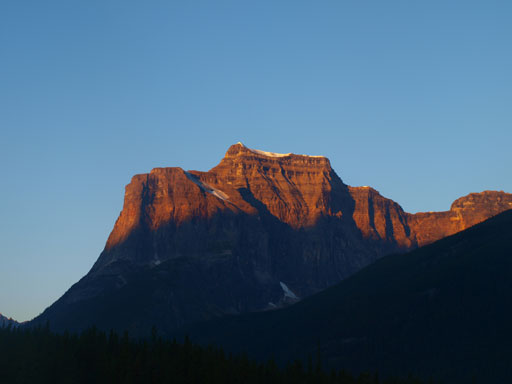 Fortress Mountain. Can't believe we would be up there!
