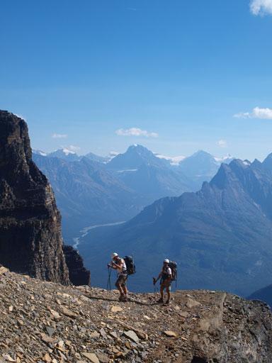Eric, Ben, and Mount Alberta