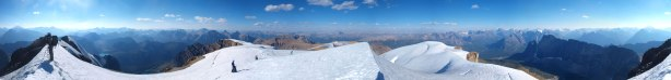 Summit Panorama. Click to view large size.