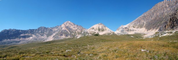 Another panorama of Fortress Creek Valley
