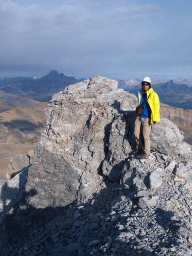 Me on the summit of Pika Peak