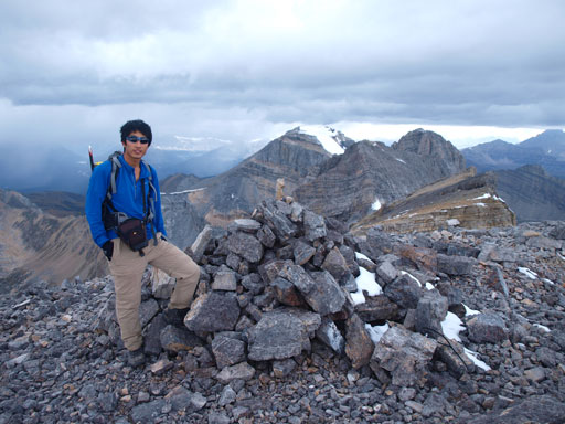 Me on the summit of Ptarmigan Peak