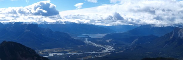 And, Athabasca River Valley