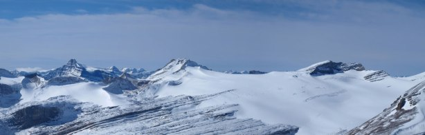 Panorama of Drummond Icefield