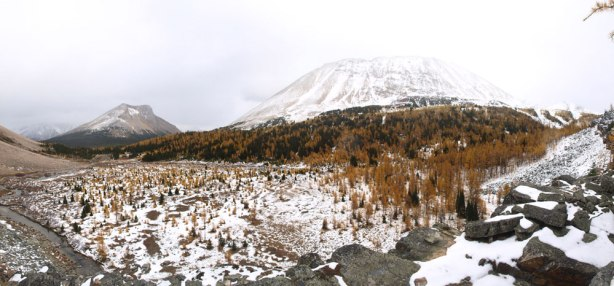 Panorama of Skoki Valley